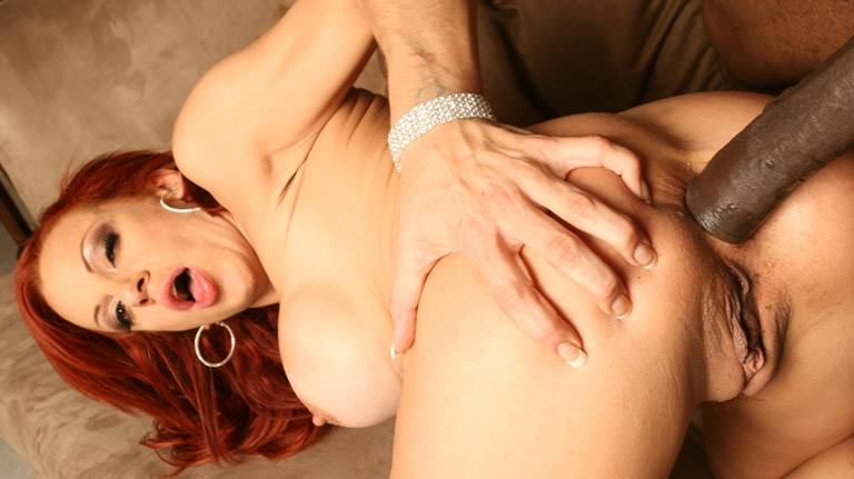 Black cock fucks mature Shannon Kelly good