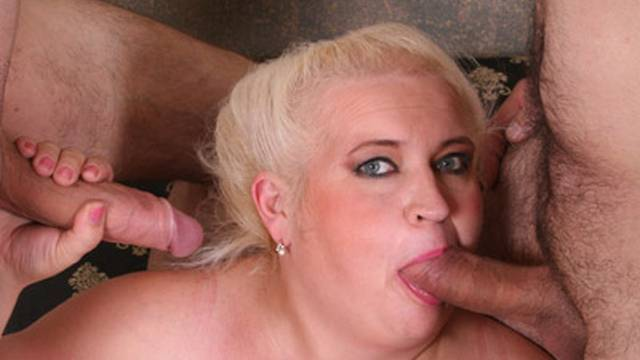 MILF likes one cock, but loves two